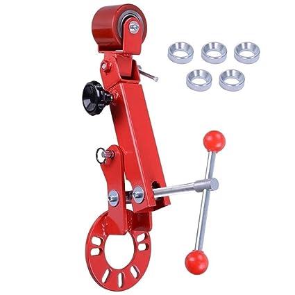 Red Heavy Duty Fender Roller Tool Extending Auto Body Wheel Arch Roller Blue