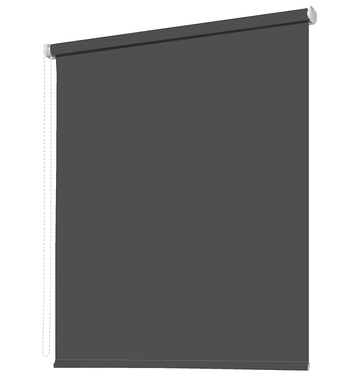 Seitenzugrollo Kettenzugrollo Fenster Rollo 8 8 8 Farben Breite 62 bis 242 cm Höhe 160 cm Vorhang blickdicht halbtransparent lichtdurchlässig Sonnenschutz Blendschutz (Größe 242 x 160 cm Farbe Weiß) B0793H3SPT Seitenzug- & Springrol 5f3153