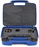 Hard Storage Carrying Case For 360fly 360° 4K Video Camera TM- Stores Camera, Charger And Accessories, Safely - Blue