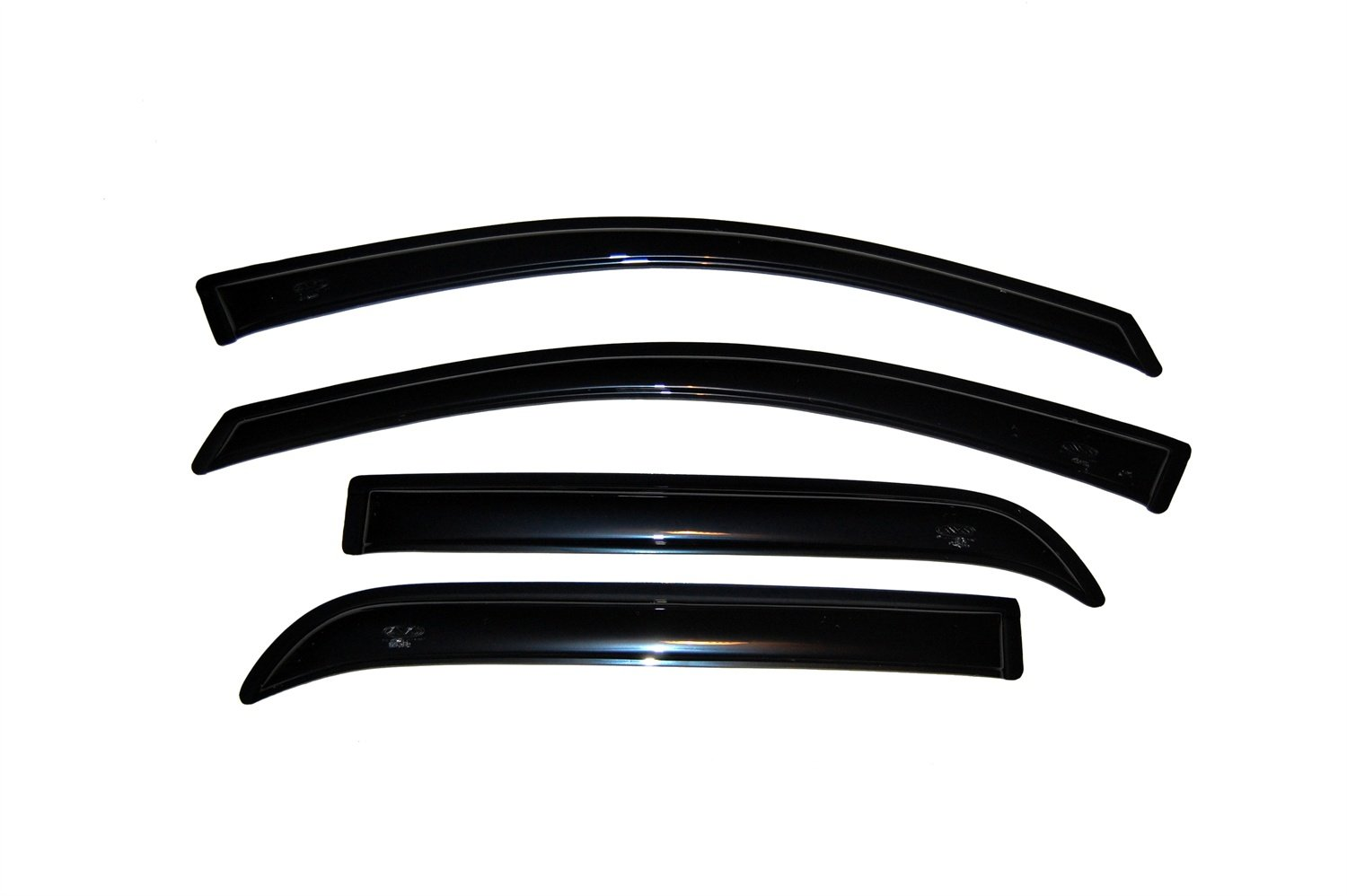 Auto Ventshade 94632 Original Ventvisor Side Window Deflector Dark Smoke, 4-Piece Set for 2007-2016 GMC Acadia, 2017-2018 Acadia Limited, 2007-2010 Saturn Outlook