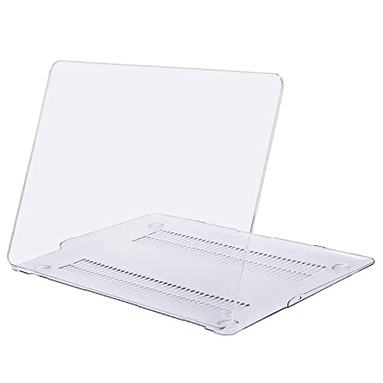 MOSISO Plastic Hard Shell Case Cover Compatible MacBook Air 11 Inch (Models: A1370 & A1465), Crystal Clear