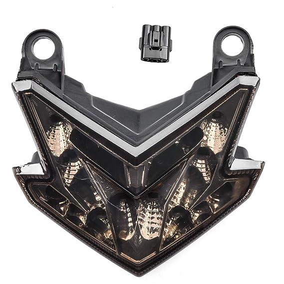 LoraBaber Luces de giro LED integrado Luz trasera para ...