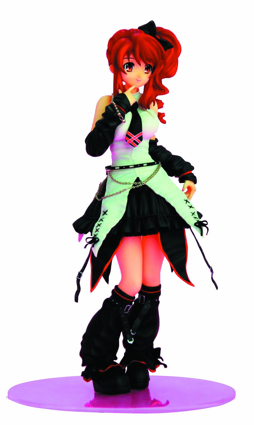 Griffon The Melancholy of Haruhi Suzumiya: Mikuru PVC Figure (Gothic Punk Version) (japan import)