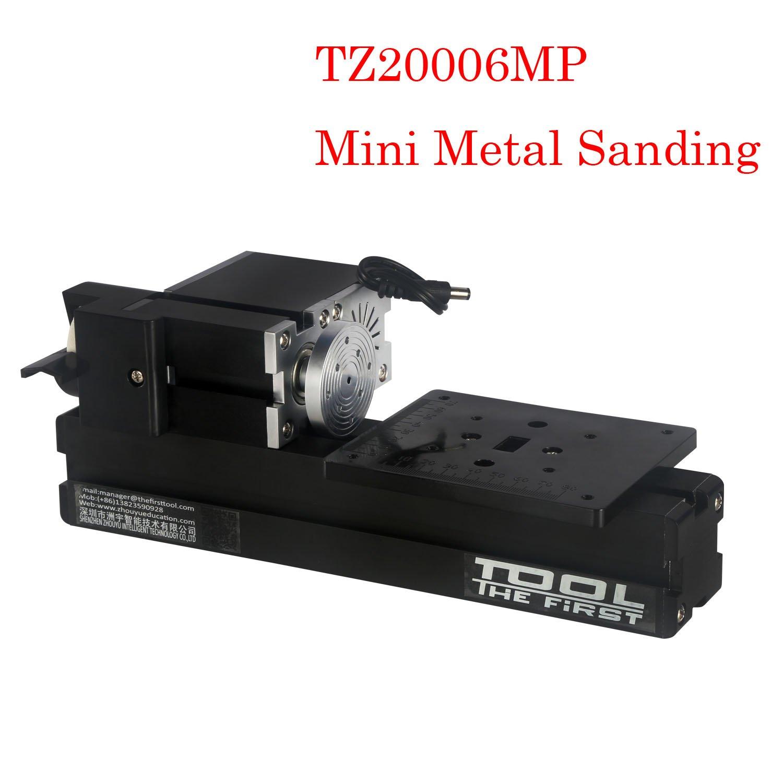 Metal Working Lathe DIY Woodworking Big Power 60W Electroplated Mini Metal Sanding grinder Machine for woodworking DIY hobby