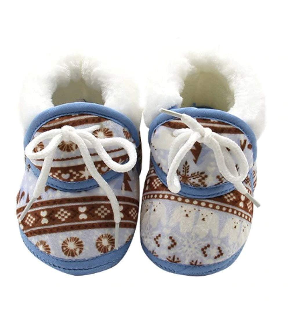 EROSPA® Baby Warme Hausschuhe Winter - Mädchen Jungen Unisex