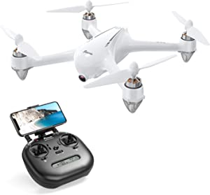 Potensic D80 GPS Drone with 2K Camera for Adults Beginner, FPV RC Drone with Strong Brushless Motors, GPS Auto Return Home,Follow Me, 25 mph High Speed 5.0GHz Wi-Fi Gyro Quadcopter White