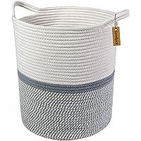 Goodpick Cesta de almacenamiento de cuerda de algodón