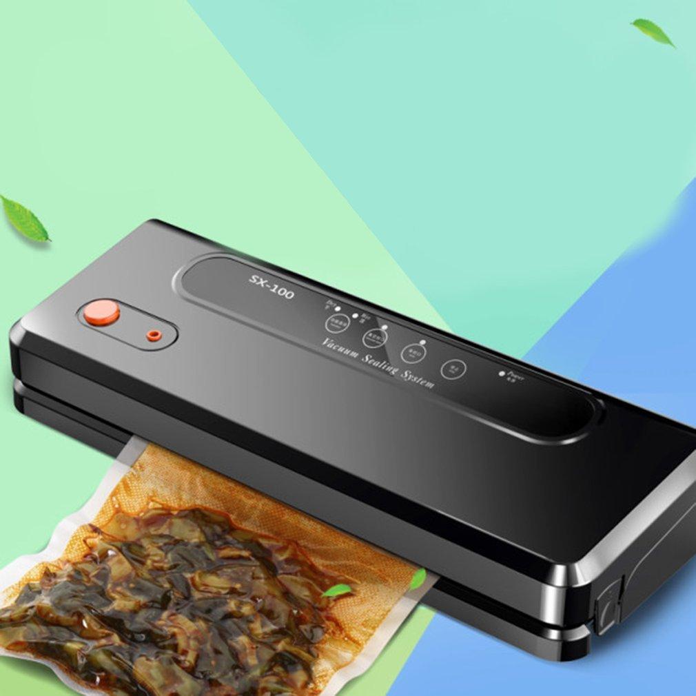 Wet Dry Dual Use Household Food Vacuum Sealer Automatic Vacuum Sealing Packer