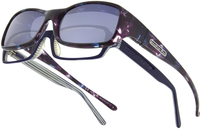 Fitovers Eyewear Mooya/Nagari Sunglasses (Mother Pearl, Polarvue Gray)