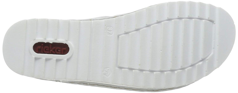 Rieker Damen V3281-91 Pantoletten