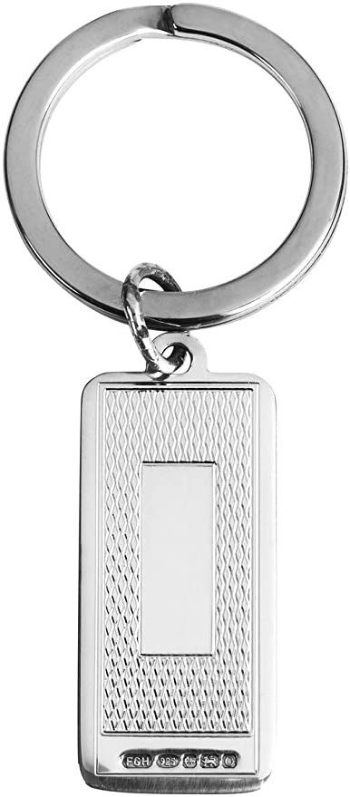 Silver Orton West Unisex Hallmark Display Card Case