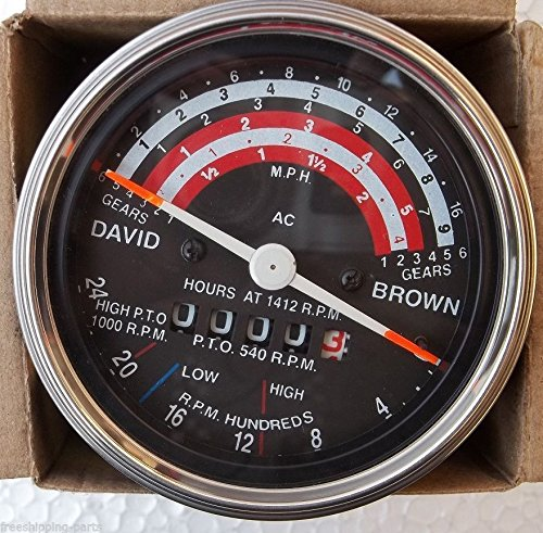 d Brown Tachometer Tractor For 880 885 990 995 996 1210 ()