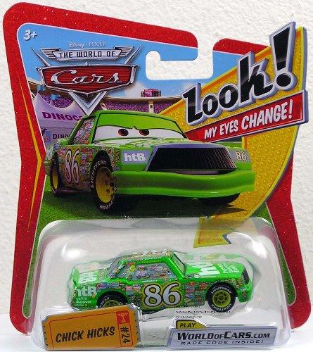 (Disney / Pixar CARS Movie 1:55 Die Cast Car with Lenticular Eyes Chick Hicks)