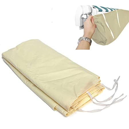 2m-5m Patio Awning Weather Rain Cover Awnings Sun Canopy Protector Storage Bag