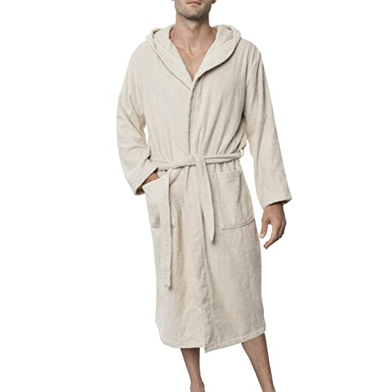 fc0fc6e8aa Twinzen Men s Bathrobe (XS to XL) - Luxury 100% Cotton Bathrobes ...