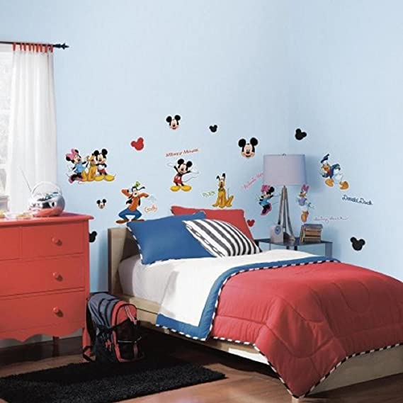 Pared Adhesivo Decorativo Pared Tattoo - Disney - Mickey Mouse ...