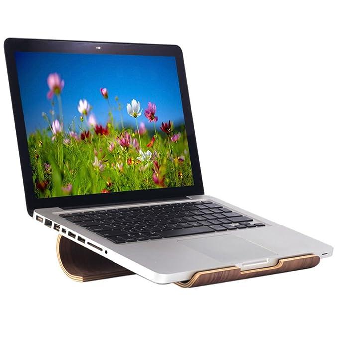 First2savvv MT-BJPB-01D07 Soporte de Regazo Stand para Ordenador Ordenador portátil,Apto para los Ordenadores portátiles/Apple Macbook/Tablets + USB luz ...