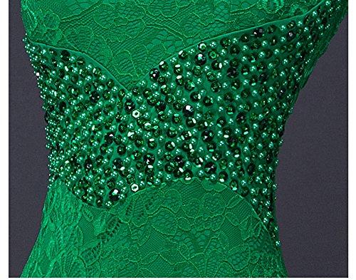 Abendkleid Ohne V tiefem Arm Violett Ausschnitt Beauty Rückenfrei Emily Nixe mit Bodycon Spitze wXxxP0Fq