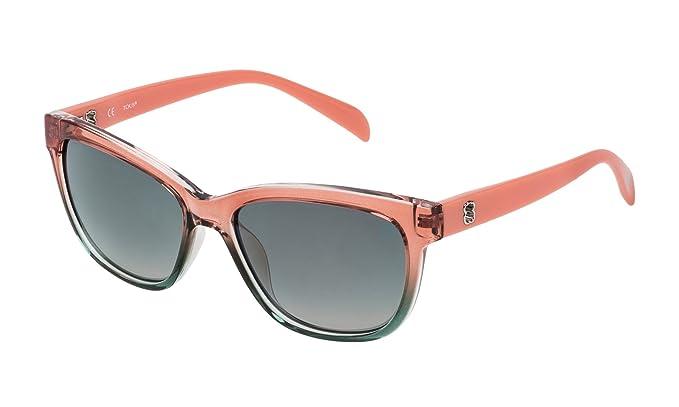 Tous STO950-54D40G, Gafas de Sol para Mujer, Shiny Transp.Pink, 54: Amazon.es: Ropa y accesorios
