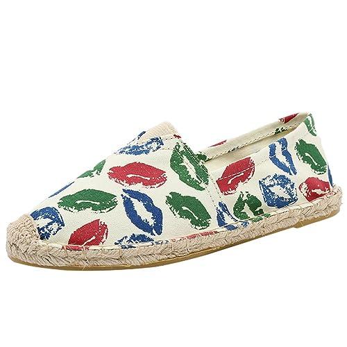 Lvguang Unisex Mujer Mocasines Plataforma Casual Loafers Primavera Verano Hombre Zapatos de Cuña: Amazon.es: Zapatos y complementos
