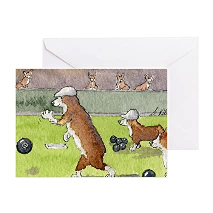 Amazon Cafepress Bowls On The Green Greeting Card Note