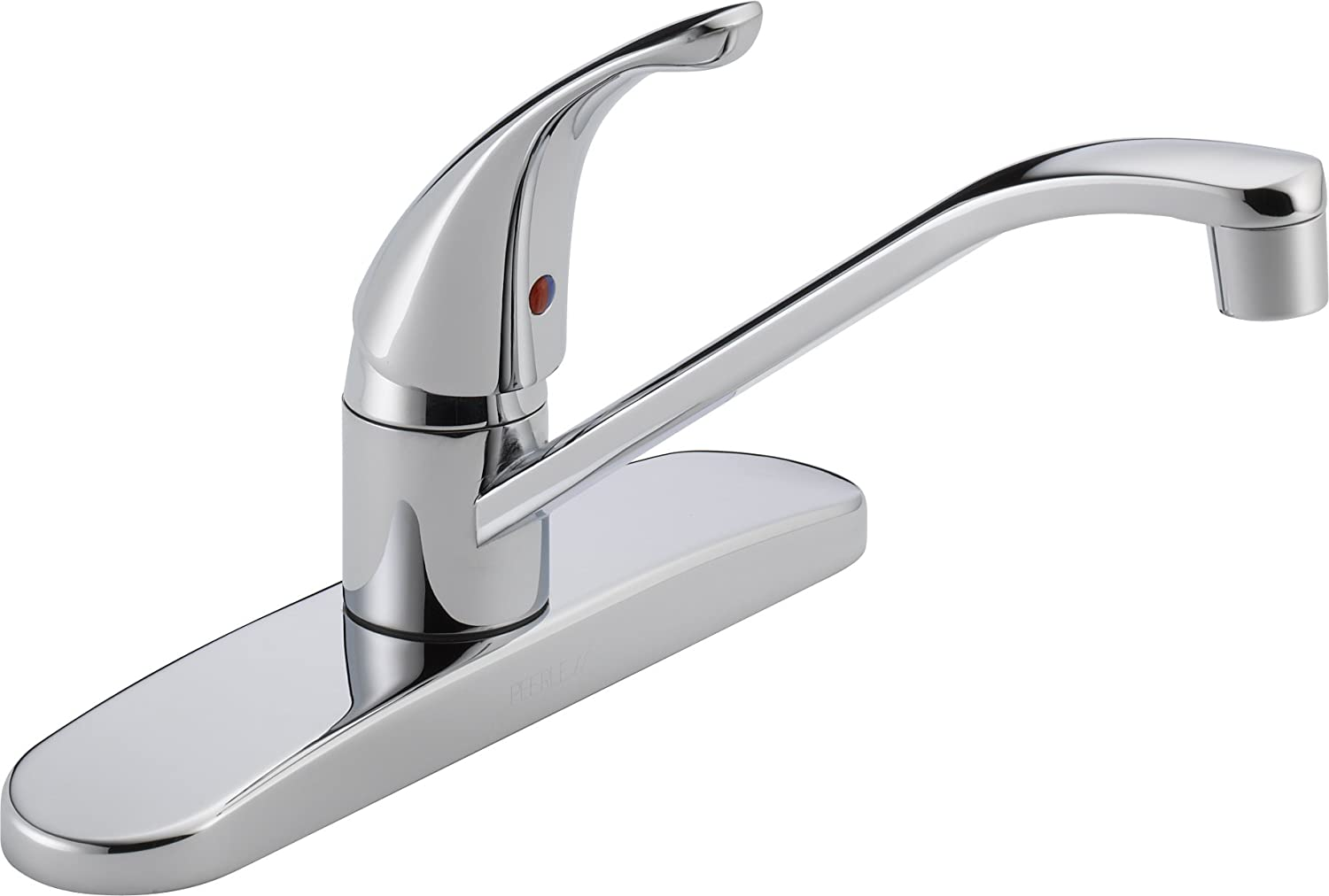 Peerless Single Handle Kitchen Sink Faucet Chrome P110lf Touch