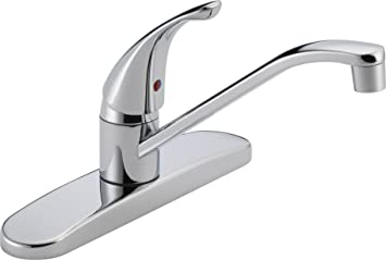 Peerless P110lf Classic Single Handle Kitchen Faucet Chrome Touch