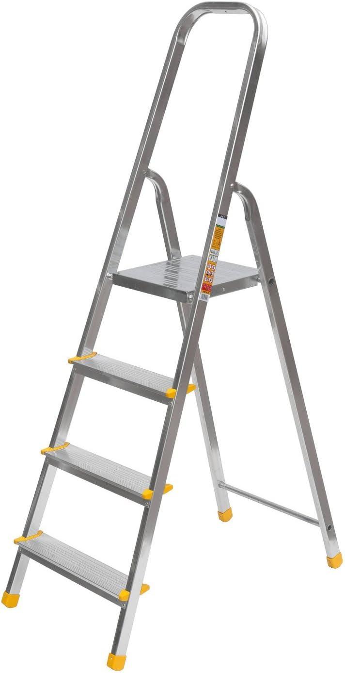 Aluminio Escalera de pintor Escalera multiusos Escalera 4 ...
