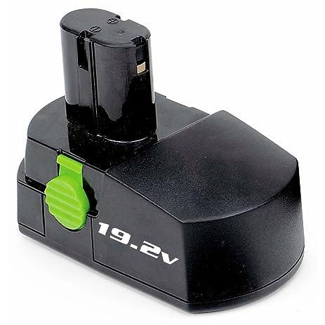 Kawasaki 840045 Black 19.2-Volt 1-1/3-Amp Hour NiCad Pod Style ...