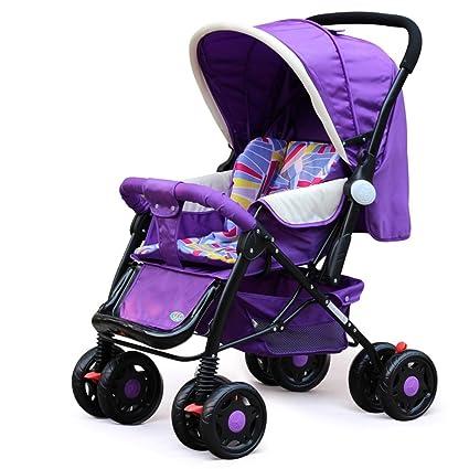 Cochecito XUERUI Bebé Plegable De Carro Cómodo Y Cómodo Confort Seguridad 2 Colores (Color :