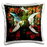 3dRose Goddess Design Is a Picture I Created with Layered Art Pillow Case, 16 x 16""