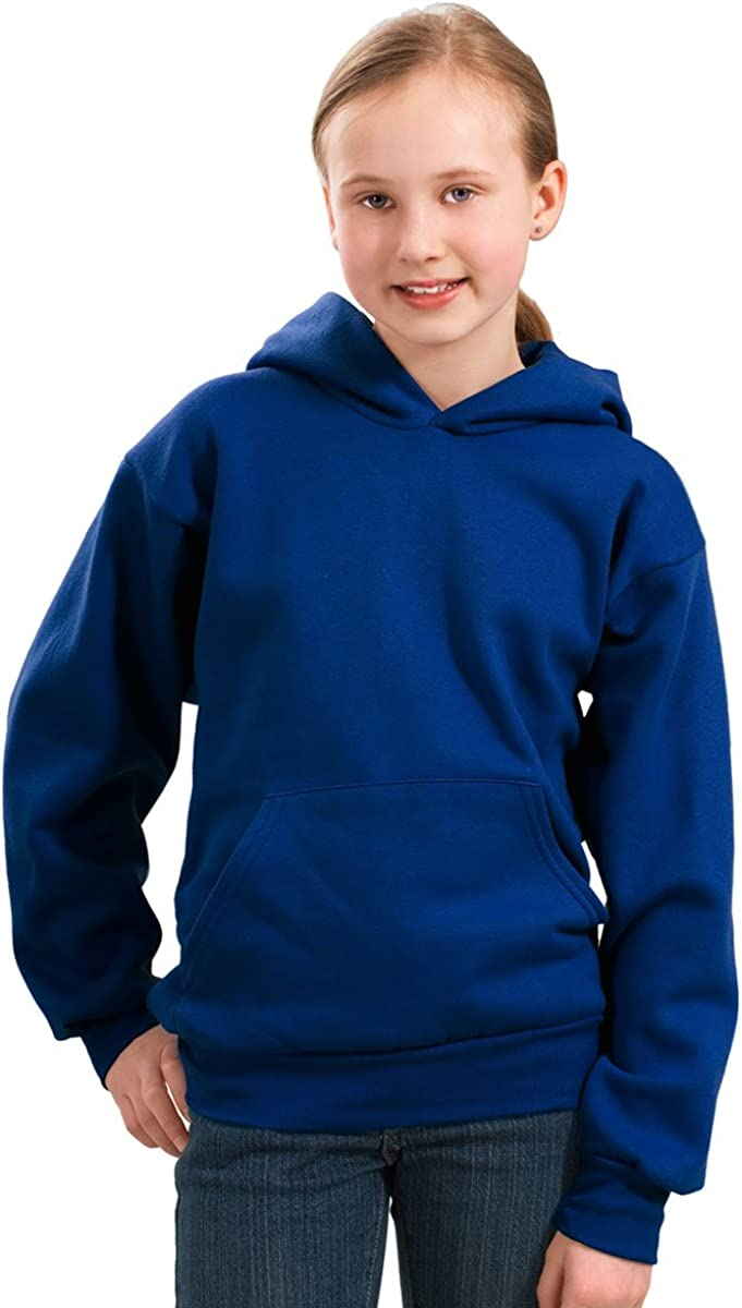 Port & Company - Youth Pullover Hooded Fleece. PC90YH - X-Large - Royal