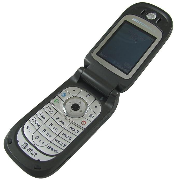 amazon com motorola v365 no contract cellular phone at t cell rh amazon com