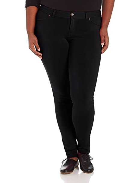 71b7cb342c6 1826 Jeans Womens Super Stretch Big Plus Size Basic Moleton Skinny Pants  (14 36.5