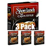 Shore Lunch Fish Breading Batter Mix, Cajun Style, Pack of 3