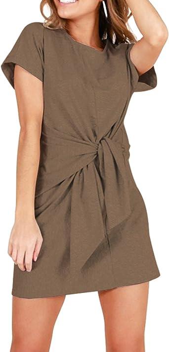 Haola Womens T Shirt Dress Casual Loose