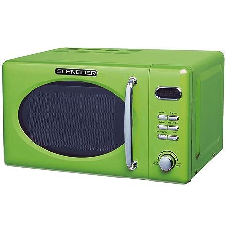 Schneider MW720 LG - Microondas (700 W), color verde: Amazon ...