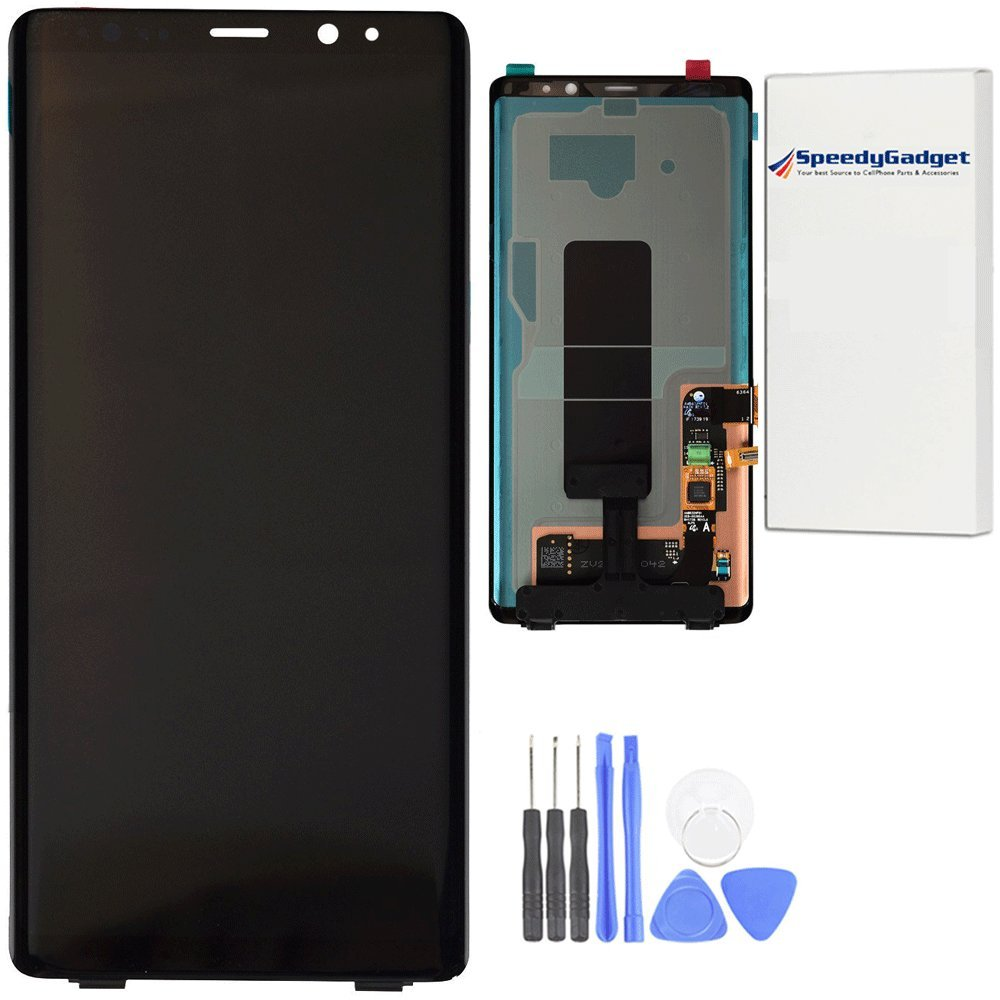 AMOLED LCD Display Touch Screen Digitizer Replacement for Samsung Galaxy Note 8 Black by SpeedyGadget