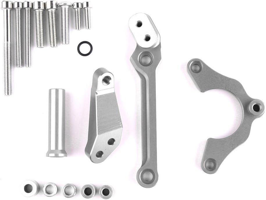 CHUDAN Supporto stabilizzatore dello smorzatore dello sterzo Kawasaki Z900 2017 Lega di Alluminio di CNC degli Accessori del Motociclo per Lo stabilizzatore dellammortizzatore