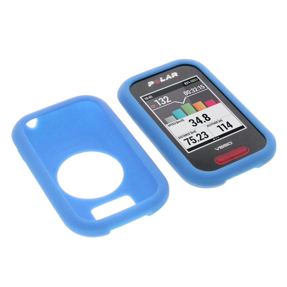 foto-kontor Funda para Polar V650 Protectora Silicona Carcasa protección Azul product image