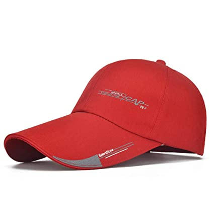 fb0dfe6387 Amazon.com : New Sports Cap Mens Hat for Fish Outdoor Fashion Line ...