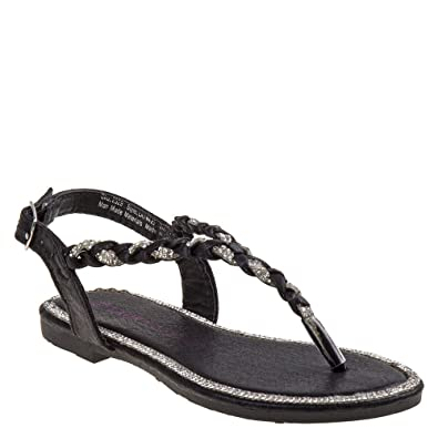 5dce265dc5ff61 Laura Ashley Girls  Gabriella Flat Sandal