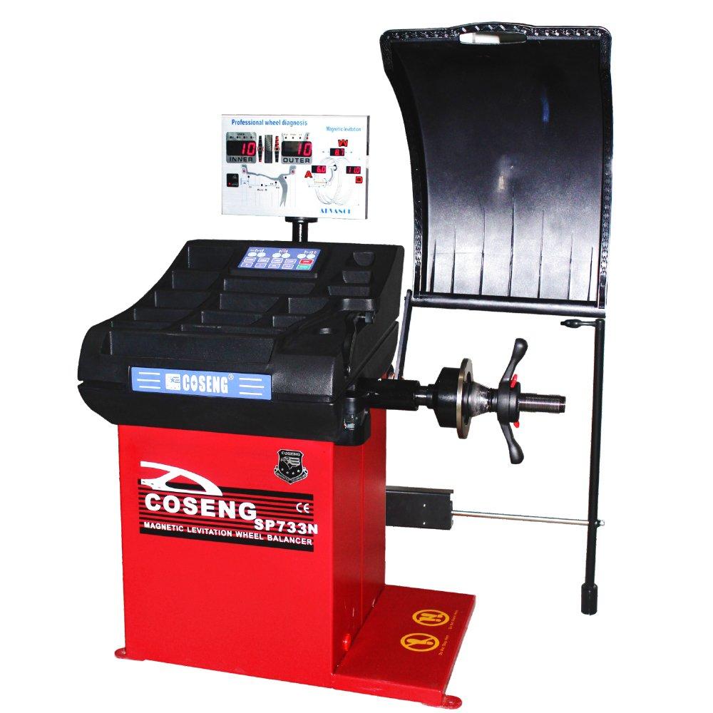 COSENG Wheel Balancer Magnetic Levitation System Advanced Model Automatic Data Entry Balancer SP733N