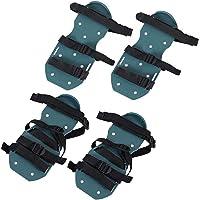 1 paar gazonbeluchter-sandalen Gazonsandalen Heavy Duty voor de gezondheid van uw gazon met plastic gesp(4 straps, white…