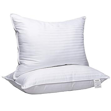 Amazon.com: Adoric almohadas para dormir, 2 unidades de ...