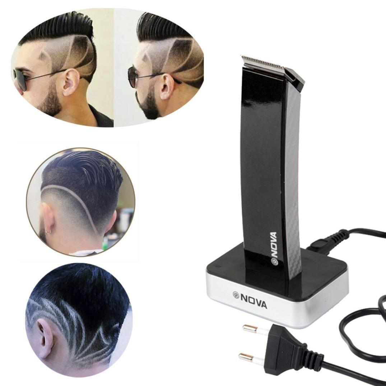 Fullfun NOVA Professional Men's Electric Shaver Beard Hair Clipper (Black)