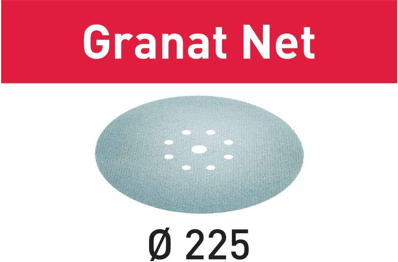 Festool 203315 Abrasive Net STF D225 P150 GR NET//50 Set of 50 Pieces Steel Grey