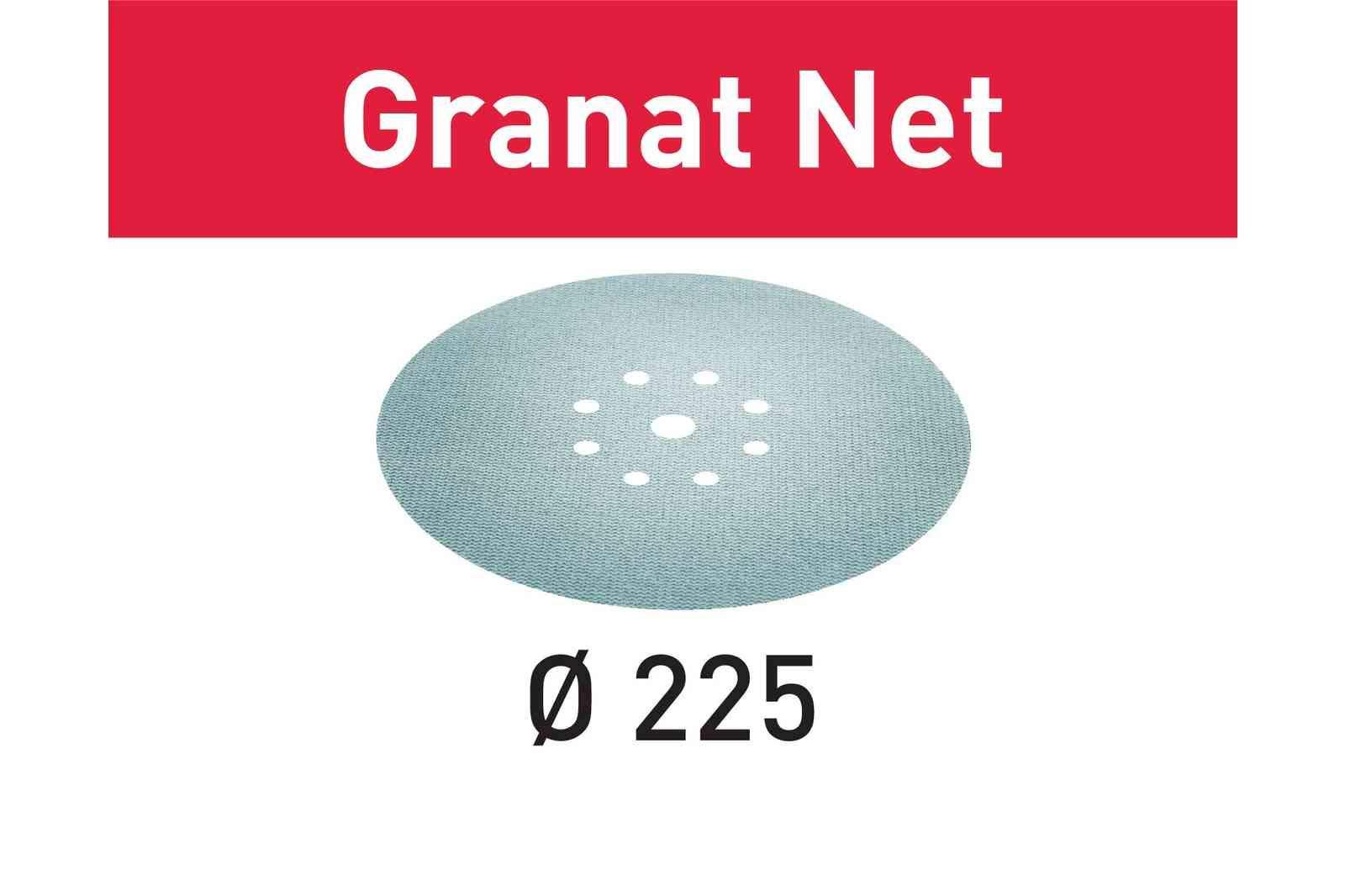 Festool 203314 P120 Grit GRANAT Net Abrasives, 9''