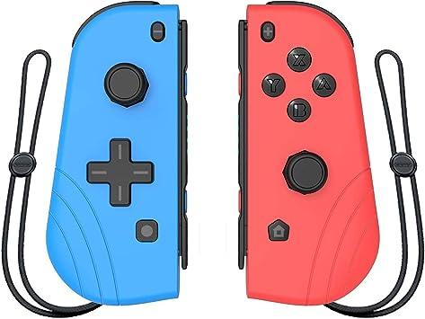 Mando inalámbrico Joy-Con, para Nintendo Switch, Proslife L/R Joycon Switch, mando de gamepad con pulsera: Amazon.es: Electrónica