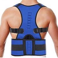 Corrector Espalda Soporte ortopédico Corrector de Postura Ajustable para Hombres Adultos y Adolescentes